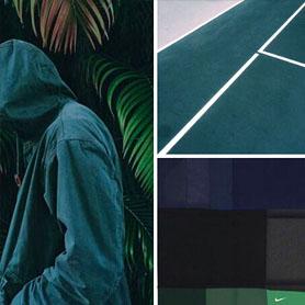 热带蓝绿色 - 运动色彩警报