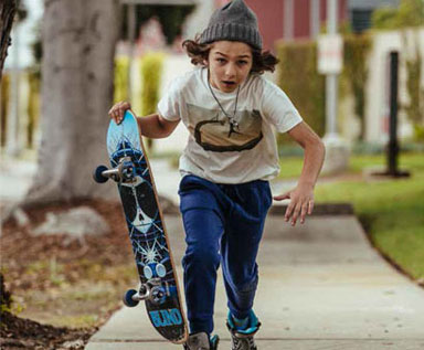 2018春夏—夏之滑板涂鸦:男童