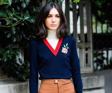 潮流警报:玫瑰园针织衫