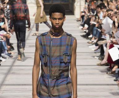 2017春夏巴黎造型集:服装一