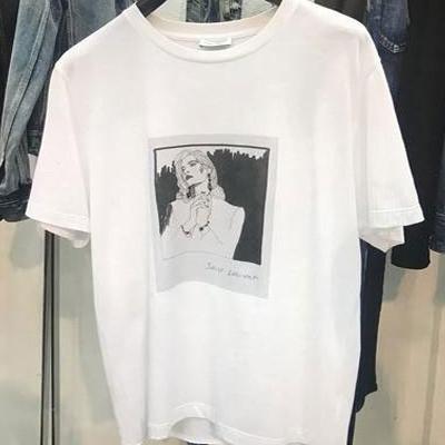 2019春夏_SAINTLAURENT_T恤_欧洲大牌资料