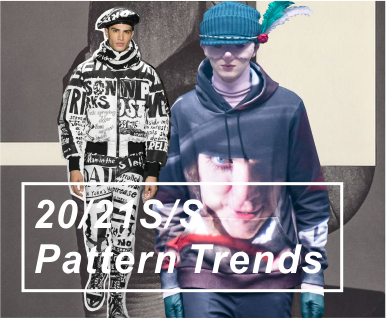 2020-2021春夏男装图案趋势分析-人像