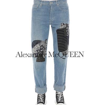 2020春夏_ALEXANDER MCQUEEN_牛仔裤_欧洲大牌资料