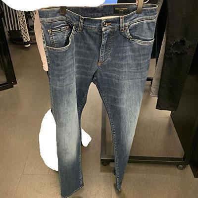 2020春夏_Dolce  Gabbana_牛仔裤_欧洲大牌资料