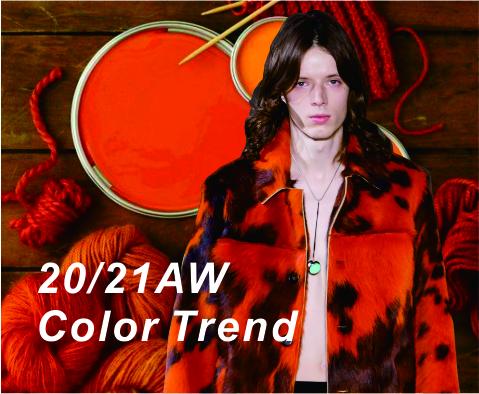 2020-2021年秋冬单色色彩趋势—虎斑橙