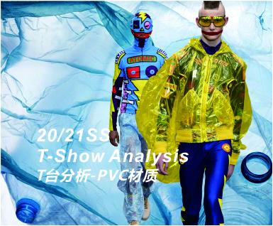 20-21春夏男装T台分析-PVC材质