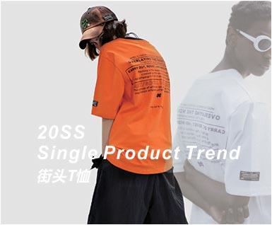 2020春夏男装单品提示-街头T恤