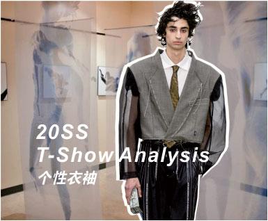 2020春夏男装T台分析-个性衣袖