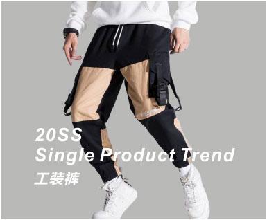 2020春夏男装单品趋势-工装裤