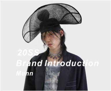 2020春夏男装品牌分析-Munn