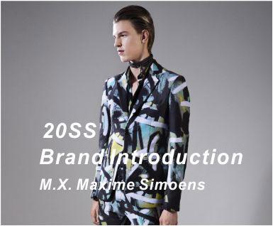 2020春夏男装品牌分析-M.X. Maxime Simoens