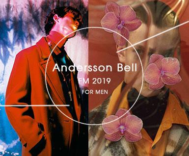 2019秋冬男装设计师品牌分析Andersson Bell
