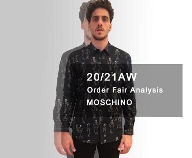 20/21秋冬MOSCHINO 订货会分析