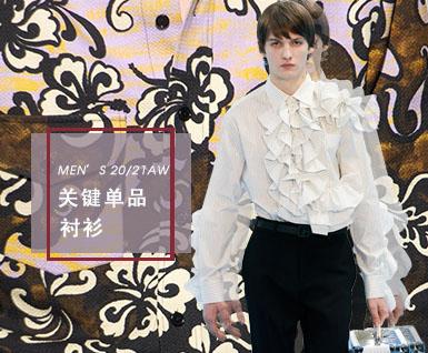 2020/21秋冬男装关键单品:衬衫