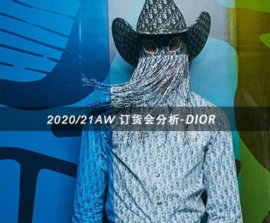 2020/21秋冬订货会分析:DIOR