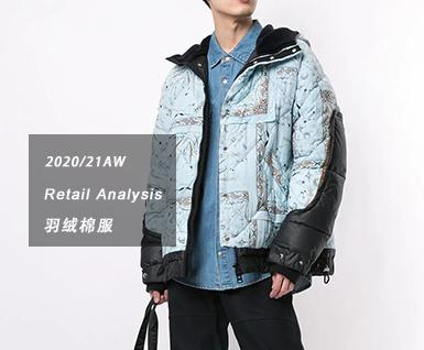2020/21秋冬男装单品:羽绒棉服