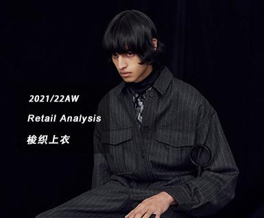 2021/22秋冬男装时尚单品:梭织上衣