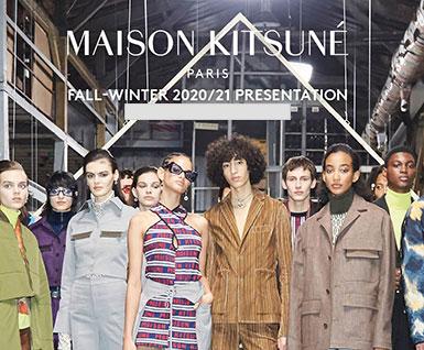 20/21秋冬系列Maison Kitsuné品牌分析