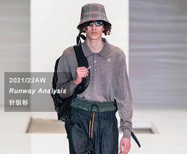 2021/22秋冬男装T台时尚单品:针织衫